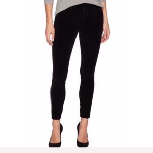 New Joe's Jeans Icon Velvet Ankle Skinny Pants